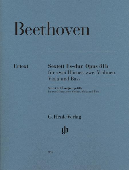 Sextet in E-flat Major, Op. 81b