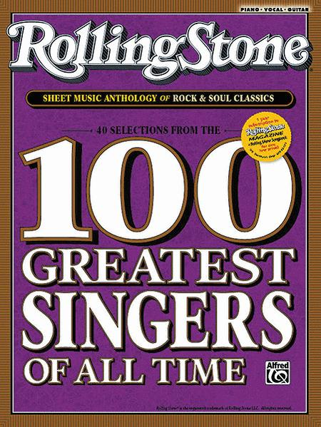 Rolling Stone Sheet Music Anthology for Singers and Pianists