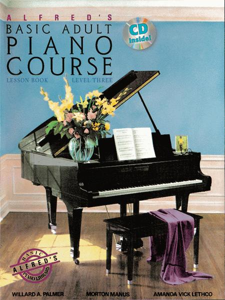 Alfred's Basic Adult Piano Course Lesson Book, Book 3