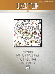 Led Zeppelin -- III Platinum Drums