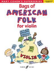 Bags of American Folk for Violin