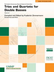 Trios and Quartets for Double Basses, Volume 1