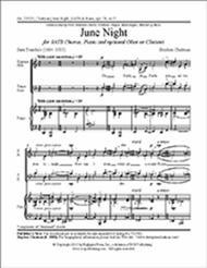 June Night (Choral Score)