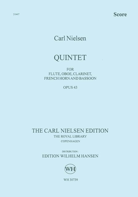 Quintet for Wind Op. 43