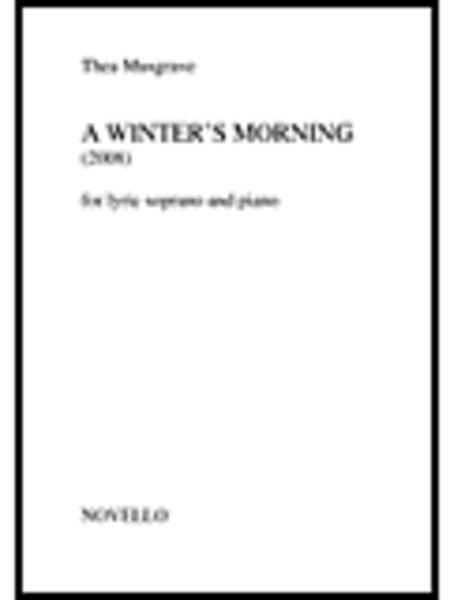 A Winter's Morning For Lyric Soprano And Piano