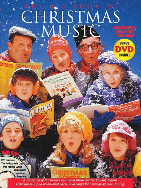 Big Book of Christmas Music with Yule Log DVD
