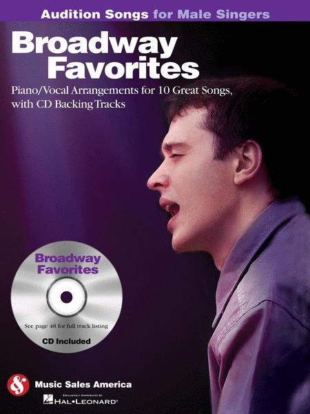 Broadway Favorites - Audition Songs for Male Singers