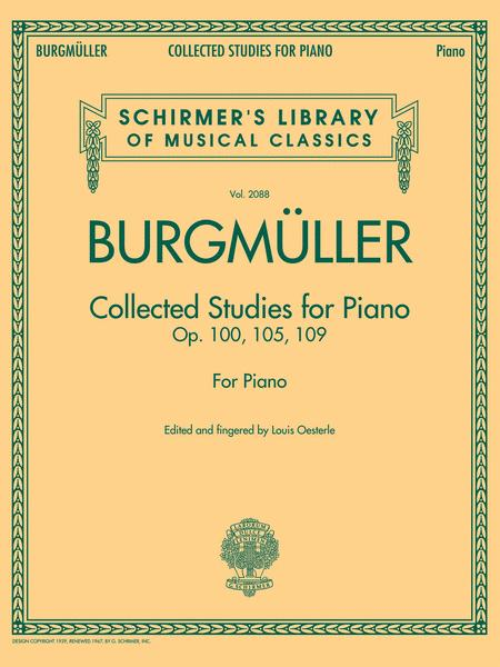 Collected Studies for Piano