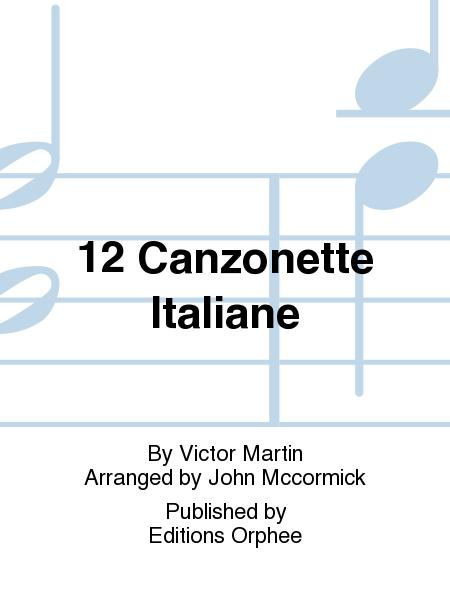 12 Canzonette Italiane