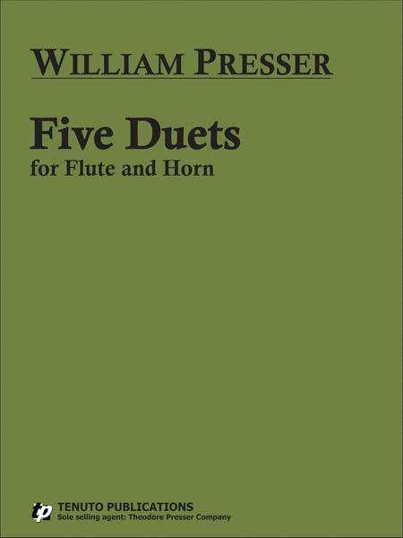 Five Duets - flute/horn