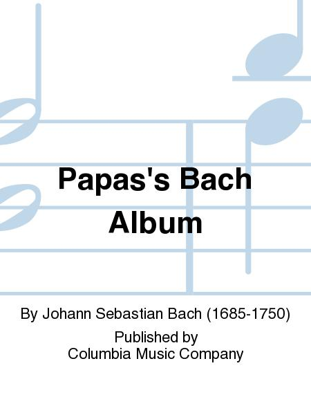 PapasS Bach Album
