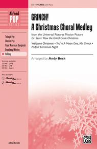 How The Grinch Stole Christmas Lyrics.Grinch A Christmas Choral Medley Sheet Music By Andy Beck