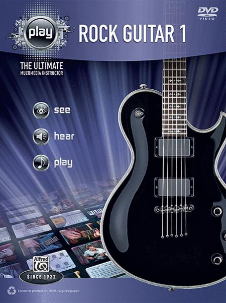 Alfred's PLAY Rock Guitar 1