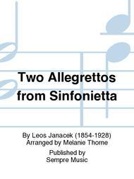 Two Allegrettos from Sinfonietta