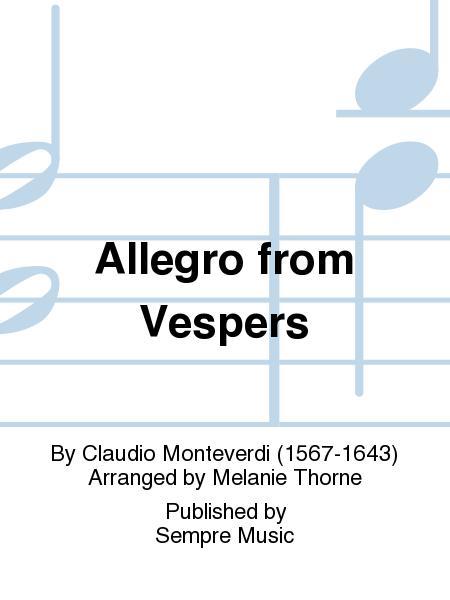 Allegro from Vespers