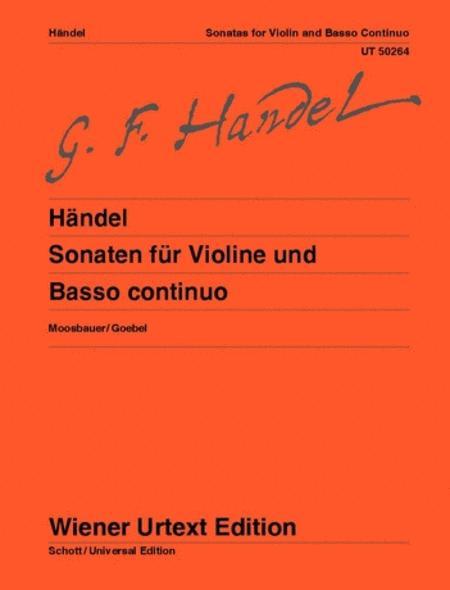Sonaten for Violin and Basso Continuo