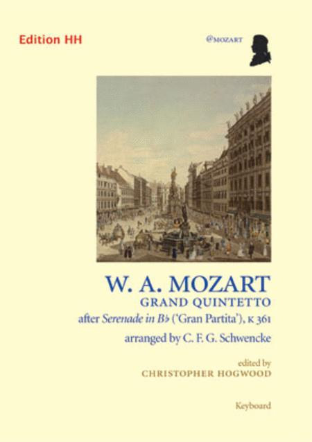 Grand Quintetto after Serenade in B flat ('Gran Partita'), K 361