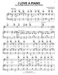 I Love A Piano