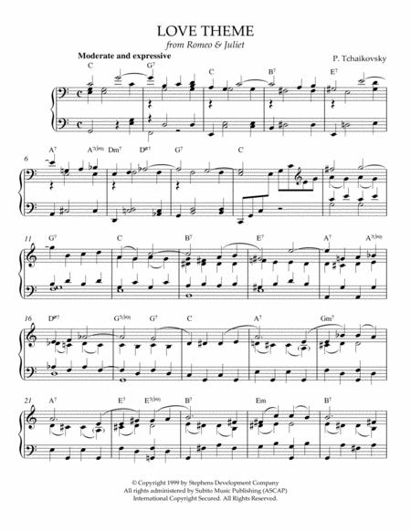 Romeo and juliet (flute and piano) sheet music download free in.
