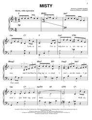 Download Misty Sheet Music By Johnny Burke Sheet Music Plus