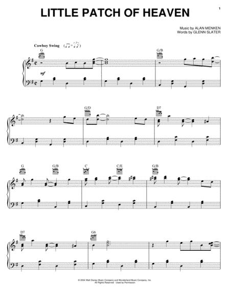 Download Little Patch Of Heaven Sheet Music By Home On The Range