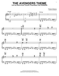 Download The Avengers Theme Sheet Music By Laurie Johnson