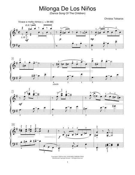Milonga De Los Ninos (Dance Song Of The Children)