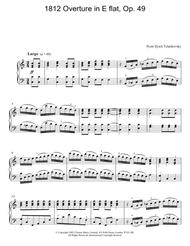 1812 Overture in E flat, Op. 49