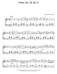 Valse, Op. 39, No. 9