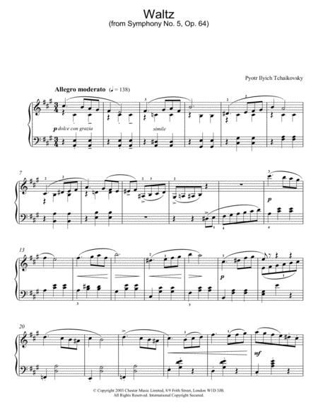 Waltz (from Symphony No. 5, Op. 64)