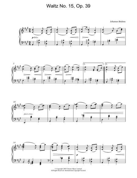 Waltz No. 15, Op. 39