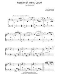 Octet in Eb Major, Op.20