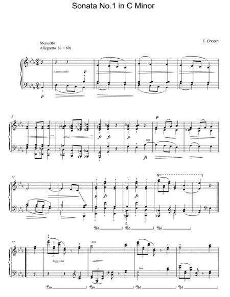 Sonata No. 1 In C Minor