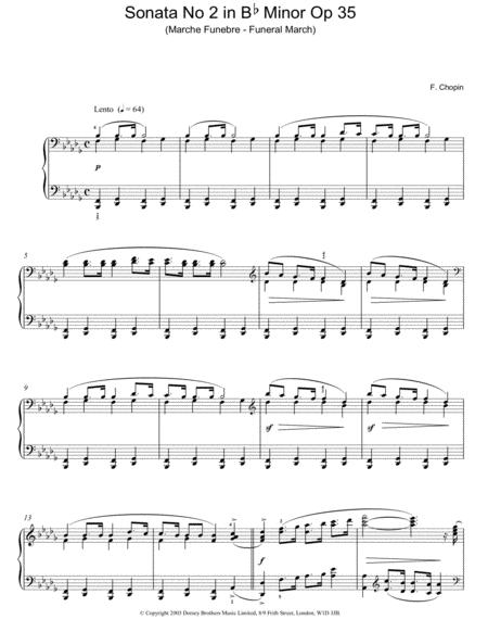 Sonata No. 2 In Bb Minor, Op. 35 (Funeral March)