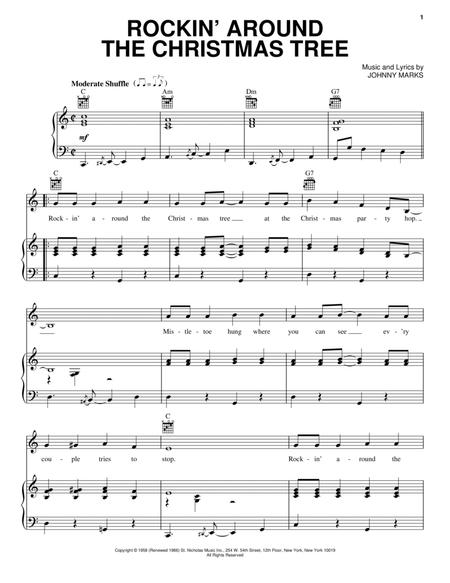 Download Rockin\' Around The Christmas Tree Sheet Music By Brenda Lee ...