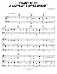 i want to be a cowboy 39 s sweetheart by digital sheet music for piano vocal guitar chords only. Black Bedroom Furniture Sets. Home Design Ideas