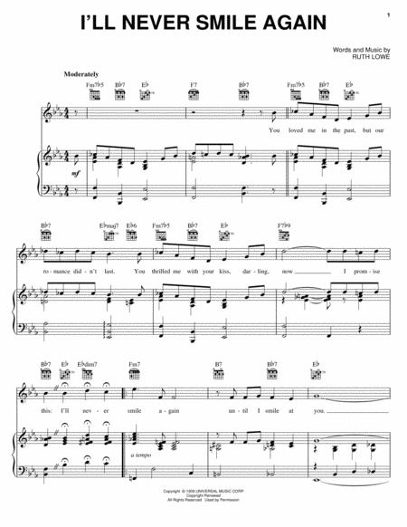Download I\'ll Never Smile Again Sheet Music By Dave Brubeck - Sheet ...
