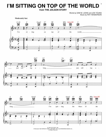 Download Im Sitting On Top Of The World Sheet Music By Les Paul