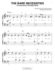 The Bare Necessities By By Terry Gilkyson Terry Gilkyson Digital Sheet Music For Download Print Hx 18718 Sheet Music Plus