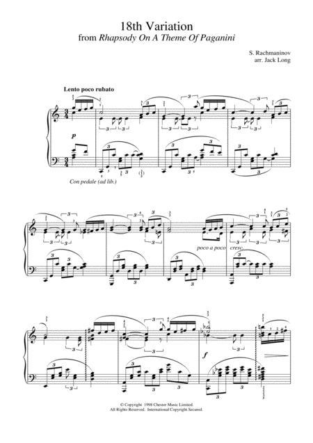 18th Variation