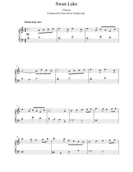 Swan Lake, Op. 20 (Theme)