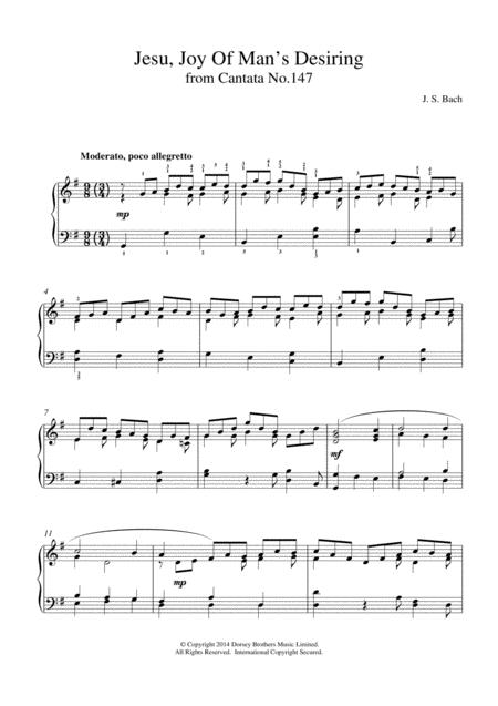 Jesu, Joy Of Man's Desiring (from Cantata 147)