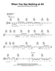When You Say Nothing At All By Keith Whitley Paul Overstreet Digital Sheet Music For Download Print Hx 19611 Sheet Music Plus