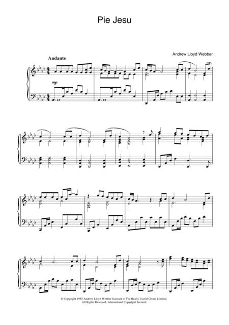 Pie Jesu (from Requiem)