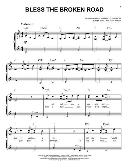 Download Bless The Broken Road Sheet Music By Rascal Flatts Sheet