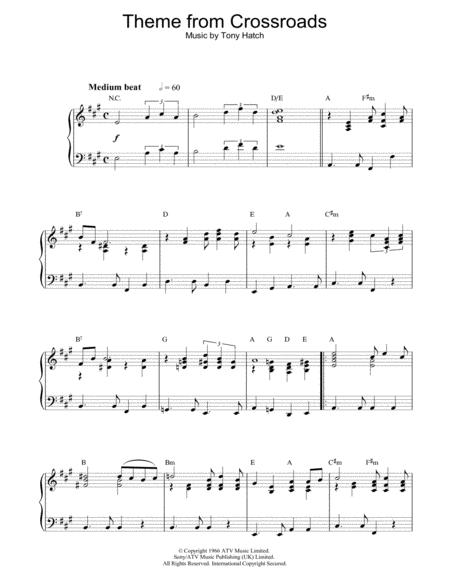 Theme from Crossroads