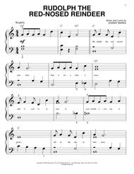 Rudolph piano sheet music pdf