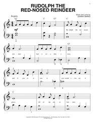 Rudolph piano sheet music pdf