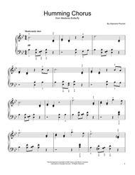 Humming Chorus (Butterfly)