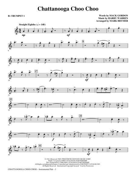 Chattanooga Choo Choo - Bb Trumpet 1